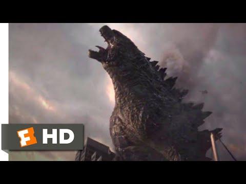 Godzilla (2014) - Godzilla Lives! Scene (10/10) | Movieclips