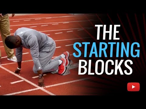 Sprints And Relay Tips - The Starting Blocks  - Coach Erik Jenkins