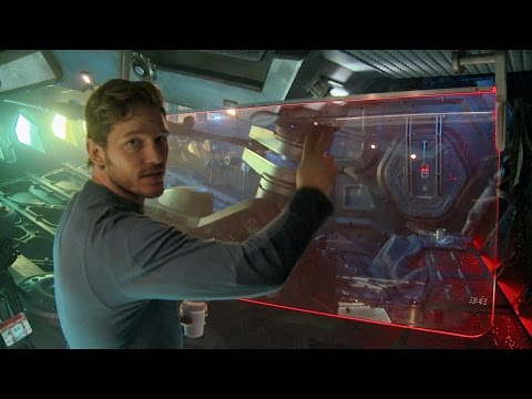 Lord - See where the magic happens for Peter Quill as Chris Pratt takes us on a tour of his ship the Milano from Guardians of the Galaxy.