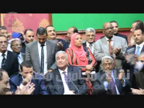 خالد ابوكراع يقدم حفل افتتاح مقر المحامين بدار القضاء العالى بحضور عاشور