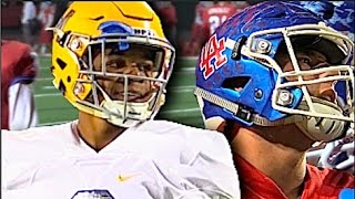Los Alamitos (CA) United States  city photo : La Mirada vs Los Alamitos : HSFB Cali CIFSS D3 Semi Finals - UTR Highlight Mix