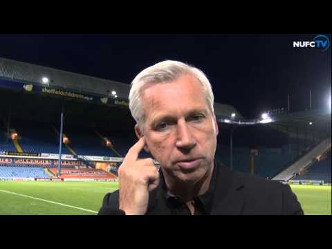 Video: Pardew And Abeid Post-Sheff Wed