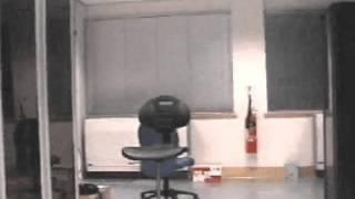 Concept Smoke Screen Server Room