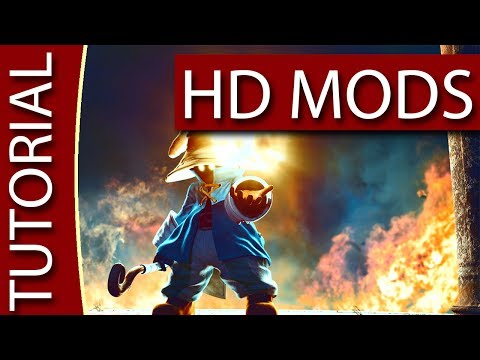 HOW TO Install Final Fantasy 9 Mods [FF9] [TUTORIAL] - HD Graphics for Final Fantasy IX
