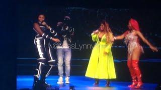 Nicki Minaj brings out Ms Banks, Lisa Mercedez & Stylo G Yu Zimme
