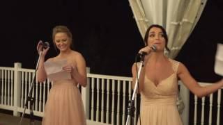 EPIC bridesmaids toast! - Carly + Chris' Nashville wedding