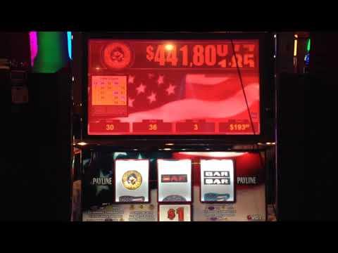 VGT Slots Star Spangled Sevens Progressive $3 Max Triple The Money