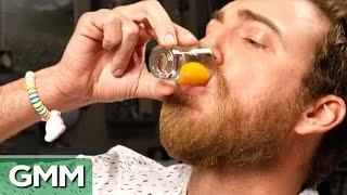 Raw Egg Eating Challenge #3