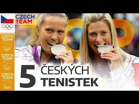 TOP: 5 českých olympijských tenistek