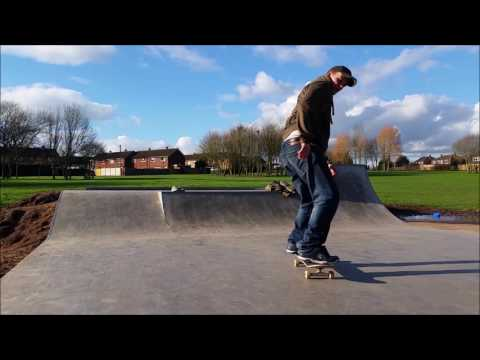 Newton Farm skate park Hereford 2015/2016