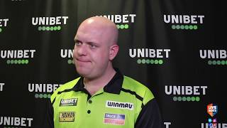 "Michael van Gerwen after beating O'Connor: ""Things are changing for myself but in a good way"""