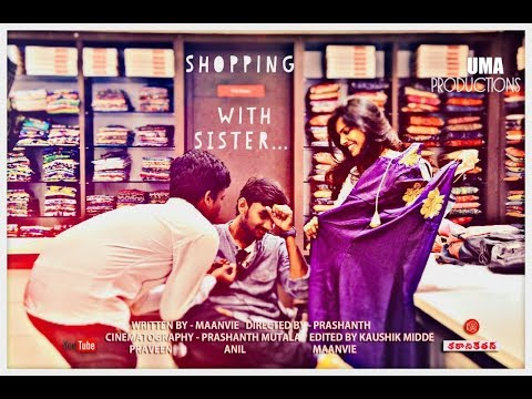 shopping with sister