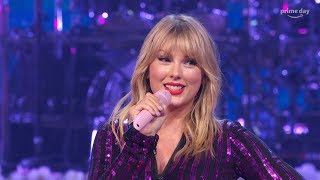 Taylor Swift - Shake It Off (Live at Amazon's 2019 Prime Day Concert 10/07/2019) 4K 60 fps