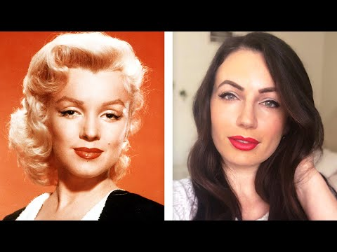 I Try 1950s Makeup Looks