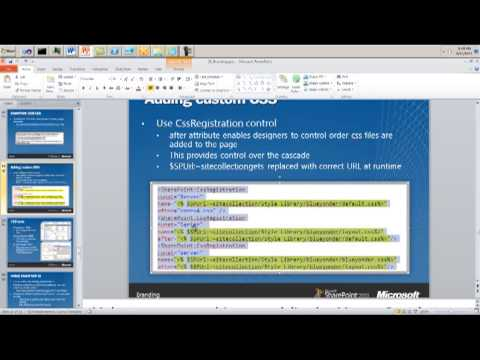 Implement Simple Master Page Branding to SharePoint 2010