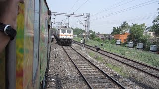 Dhanbad India  city photos gallery : Full Journey on India's Fastest Duronto: Dhanbad-Sealdah (With Rajdhani Overtake)