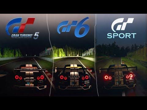 GT5 VS GT6 VS GT SPORT [Sound & Graphics Comparison] - Nürburgring Day/Night