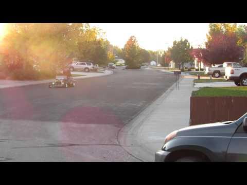 Mini T Bucket test drive