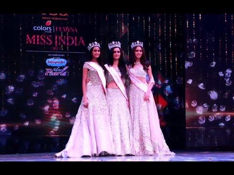 Crowning Moments: fbb Colors Femina Miss India 2017 (видео)