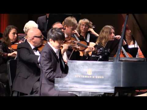 See video  Rachmaninoff: Rhapsody on a Theme of Paganini (Live with the Victoria Symphony Orchestra)