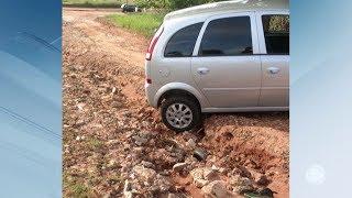 Moradores de bairro de Bauru cobram asfaltamento de ruas