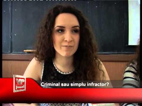 Criminal sau simplu infractor?