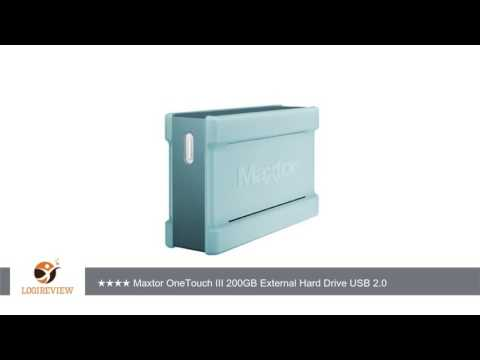 Maxtor F01E200 OneTouch III 200GB External Hard Drive USB 2.0 | Review/Test