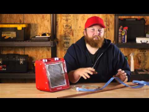 How to Prevent Freezing in Cold Water Copper Tubing With a Heater : Water Pipes & Plumbing