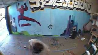Time-Lapse video of Sol Vito painting the Social Skateboarding Warehouse Wall