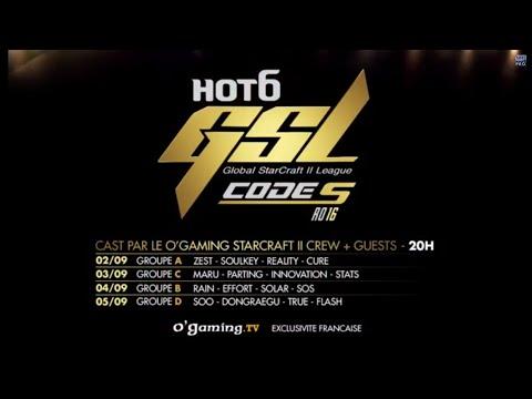 Le Top16 du Code S GSL débarque mardi 2 septembre !
