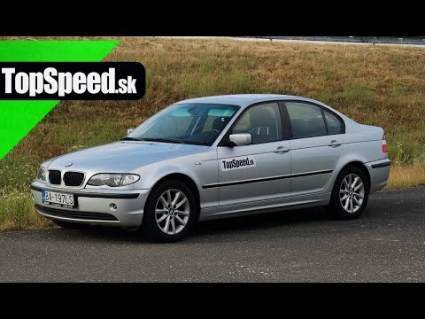 Jazdenka BMW radu 3 typ E46 (1998  - 2005) TopSpeed.sk