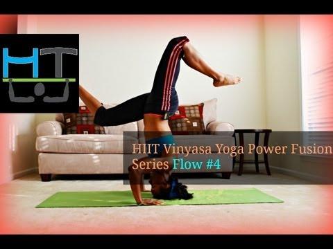 HIIT Vinyasa Yoga Power Fusion Series Flow #4