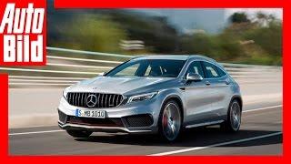 Zukunftsvision: Mercedes GLA (2019) / GLA macht Tesla Konkurrenz by Auto Bild