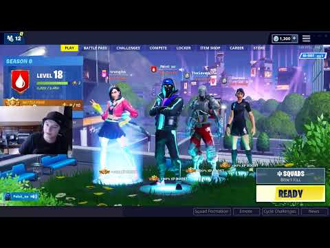 Season 9 Launch - FortniteMaster Team Plays Squads