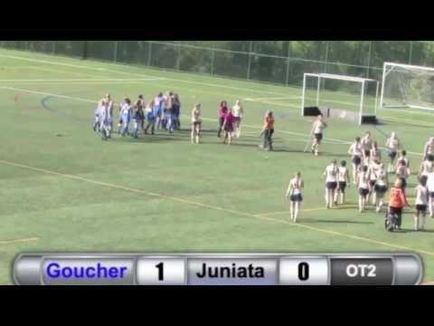 FH: Emily Jewell's Double-OT Winner Against Juniata - 10/25/14