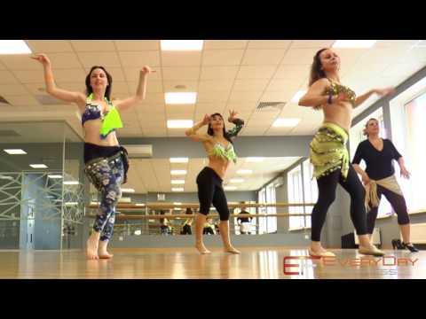Восточные танцы в EveryDay Fitness (видео)