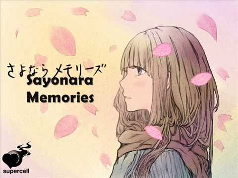 SuperCell - Sayonara Memories Lyrics ( Romaji )