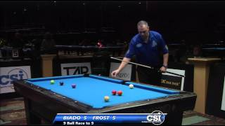 2014 CSI USBTC 9 Ball: Scott Frost Vs Carlo Biado