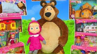 Video Masha and the Bear Toys: Dolls & Masha's Playhouse Toy Play Surprise for Kids MP3, 3GP, MP4, WEBM, AVI, FLV Juni 2019
