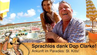St. Kitts - Sprachlos mit VIP Don Clarke