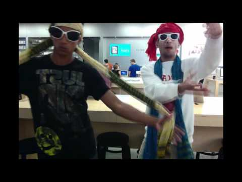 dancing at the apple store - FANPAGE: http://www.facebook.com/DaYoutubeGuy Twitter: http://twitter.com/#!/Za1d My friends facebook: https://www.facebook.com/abdullah.khalid.351.