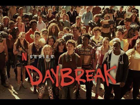 I'm a Daybreaker in Netflix's Daybreak!