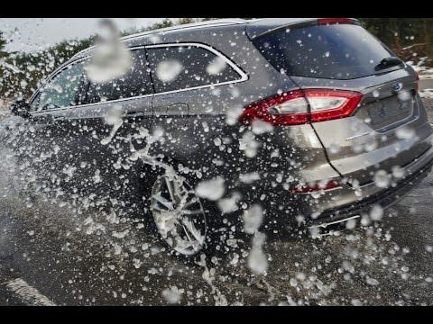 Ford воссоздал на полигоне разбитую российскую дорогу