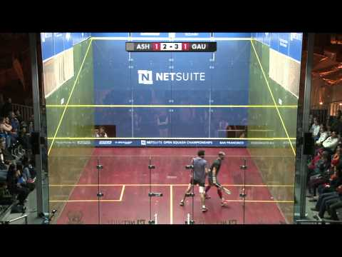 Squash : Netsuite Open 2013 FINAL roundup Ramy Ashour v Gregory Gaultier