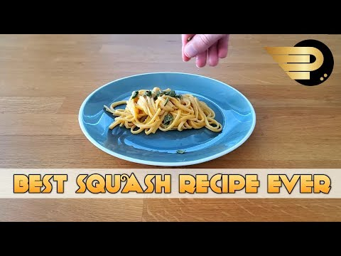 Creamy Butternut Squash Linguine with Crispy Sage - Level 1