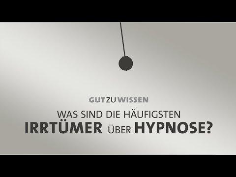 Die häufigsten Irrtümer über Hypnose