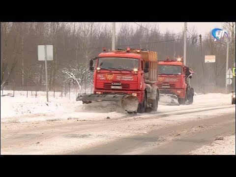 Новгородскую область вновь накрыл обширный циклон
