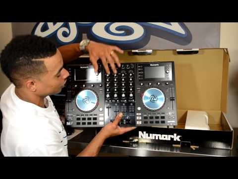 Numark NV (Dual-Screen) Serato DJ Controller Unboxing & First Impressions Video