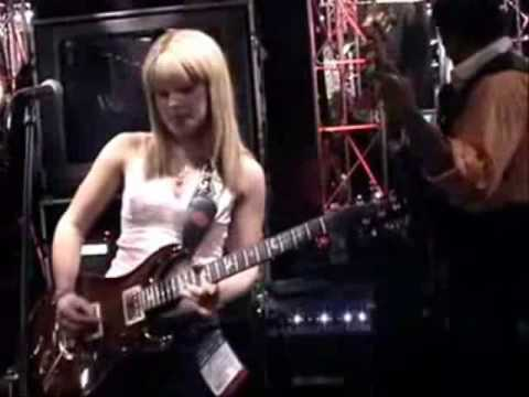 Orianthi - Phenomenal guitarist ripping it up... Orianthi has played with Santana, opened for Steve Vai, performed at Eric Claptons' Crossraods. and appeared at the 51st Grammy's alongside Carrie Underwood....