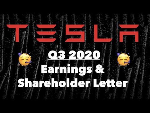 Tesla Q3 2020 Earnings Party! 🥳